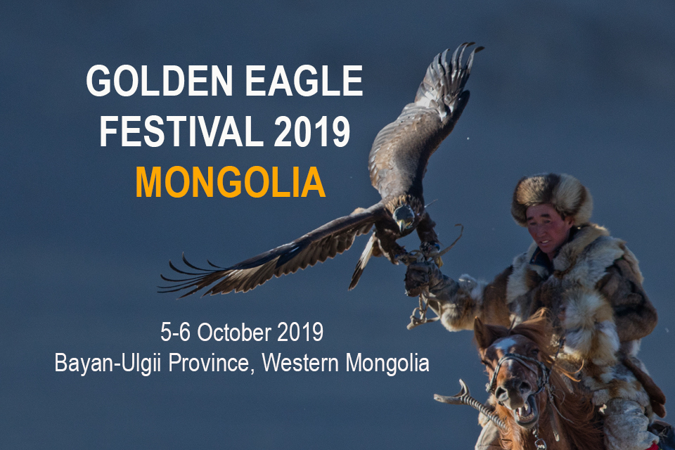 Das golden Adler Festival 2019 findet vom 5. bis 6. Oktober in der Mongolei statt